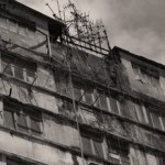 Slum flats