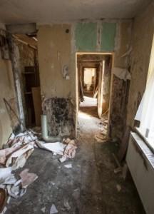decrepit room