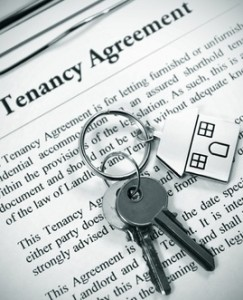 tenancy agreement and keyring