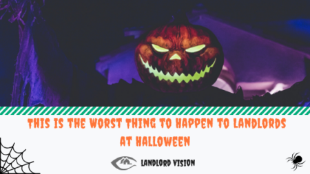 A scary pumpkin