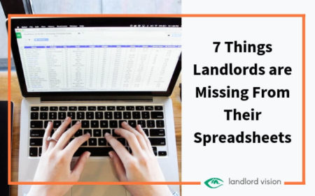 7 things landlords are missing from their spreadsheets