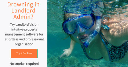 Advert with a snorkel