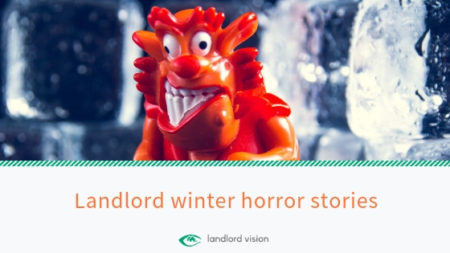 A horror surrounded by ice