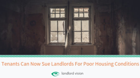 Example of poor housing conditions