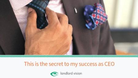 Secret to CEO success