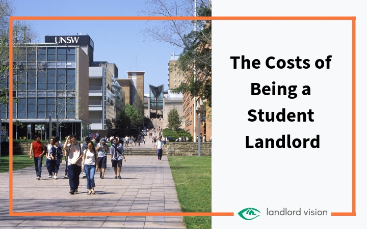 The costs of being a student landlord