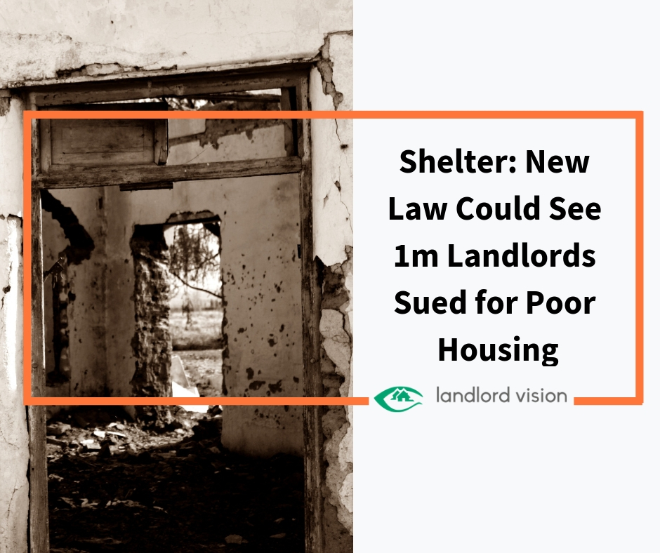 Poor Apartments: Shelter: New Law Could See Over 1m Landlords Sued