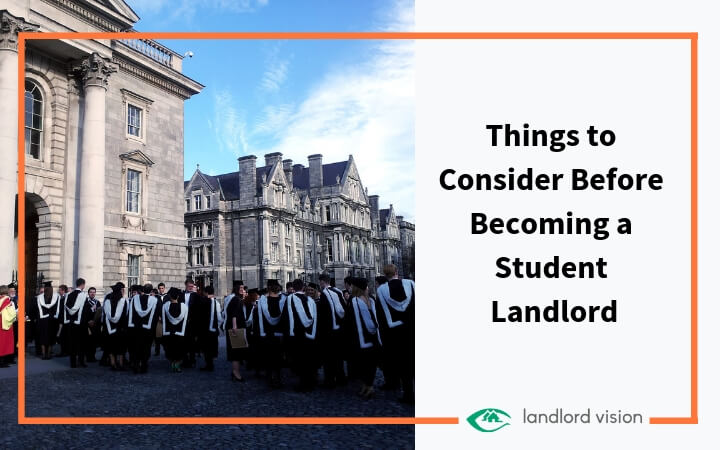 Things to consider before becoming a student landlord