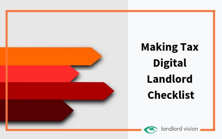 Making tax digital landlord Checklist