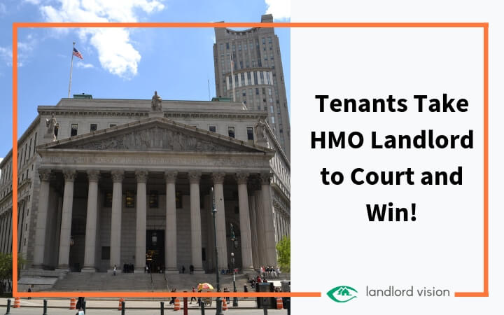 Tenants take HMO landlord to court and win