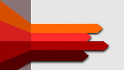 orange arrows representing MTD