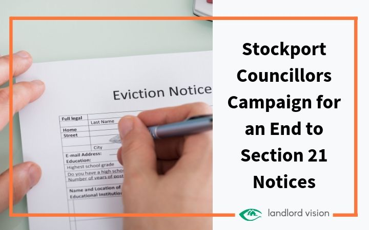 Eviction notice representing section 21 debate