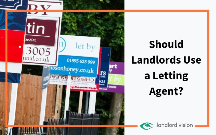 Some letting agency signs with the title should landlords use a letting agent.