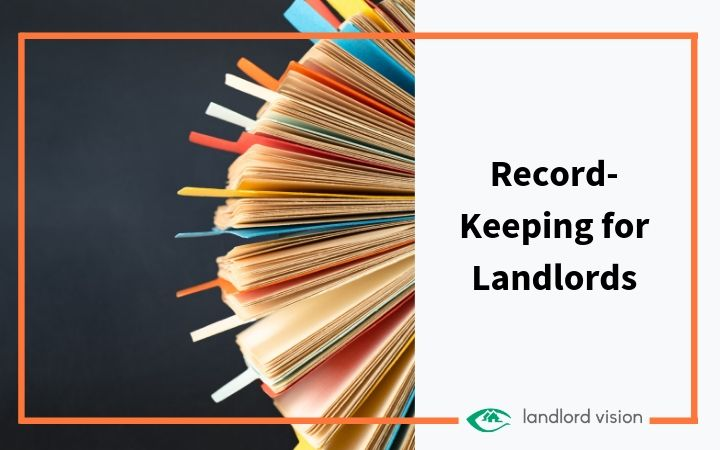 A Rolodex symbolising record keeping for landlords.