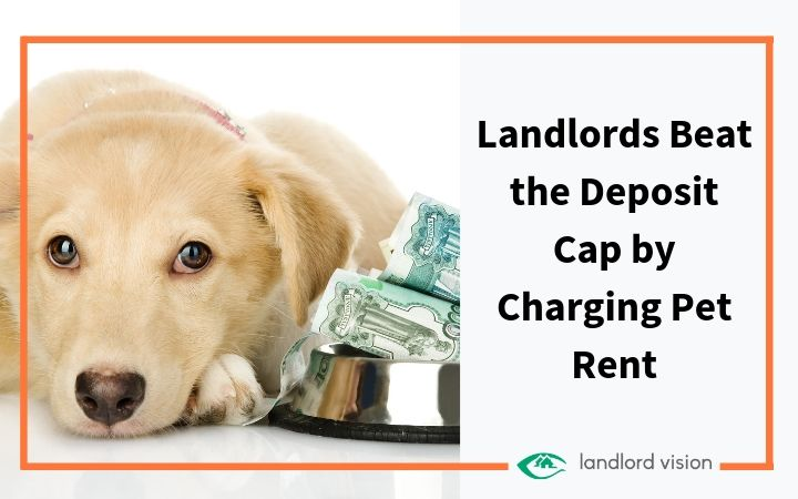 Landlords beat the deposit cap by charging pet rent