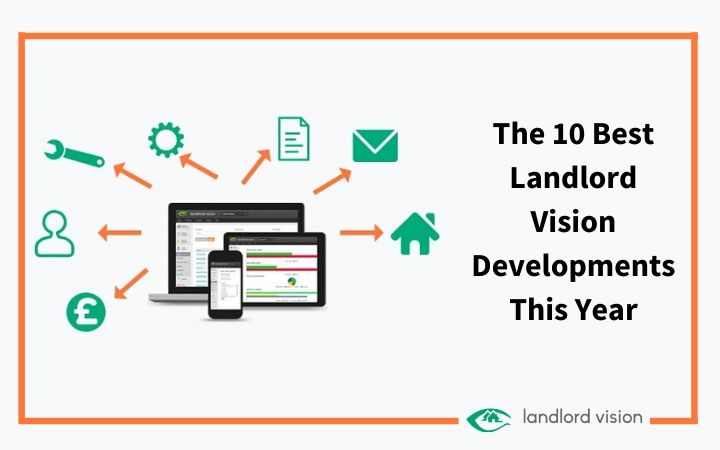Image of Landlord Vision software representing latest developments