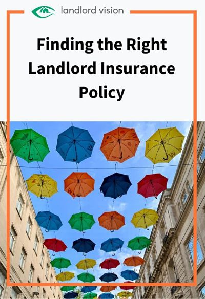 A guide to finding the right landlord insurance