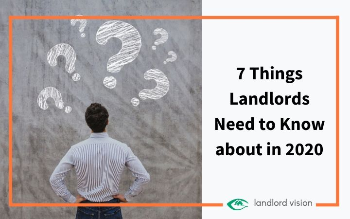 Landlord looking at question marks