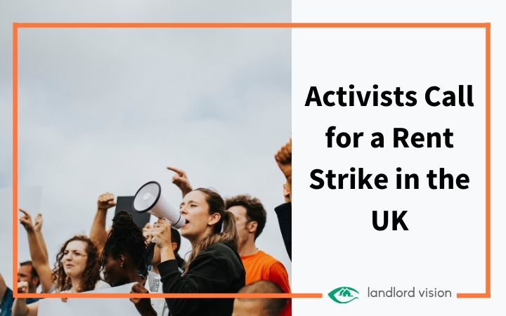 A rent strike