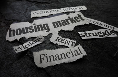 Rent, Eviction and other assorted bad economic news headlines
