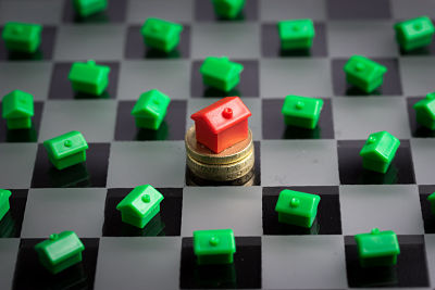 Real estate , house & property market