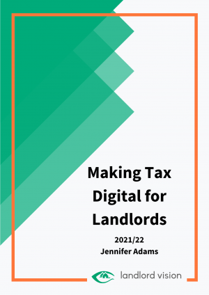 The Landlord Vision income and expense spreadsheet.