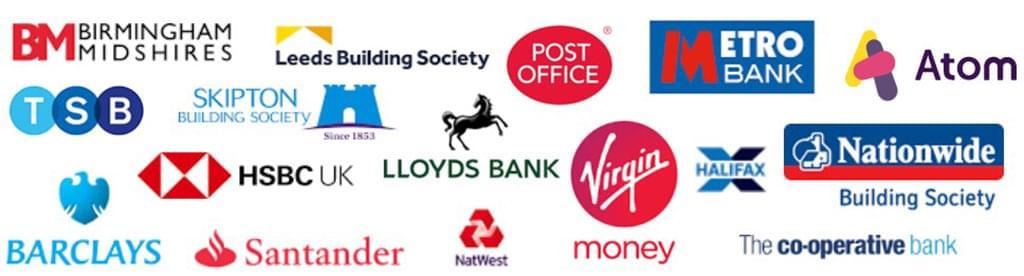 mosaic of mortgage lender logos